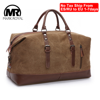 Mens Duffel Canvas Bags Overnight Travel Bags Large Capacity  1