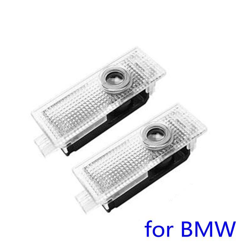 2X LED Car Door Welcome Light Laser Projector Logo Lights For BMW X5 E70 E60 E65 E90 F10 F20 F30 X1 X3 E92 M3 F25 F01 F02 X3 X6