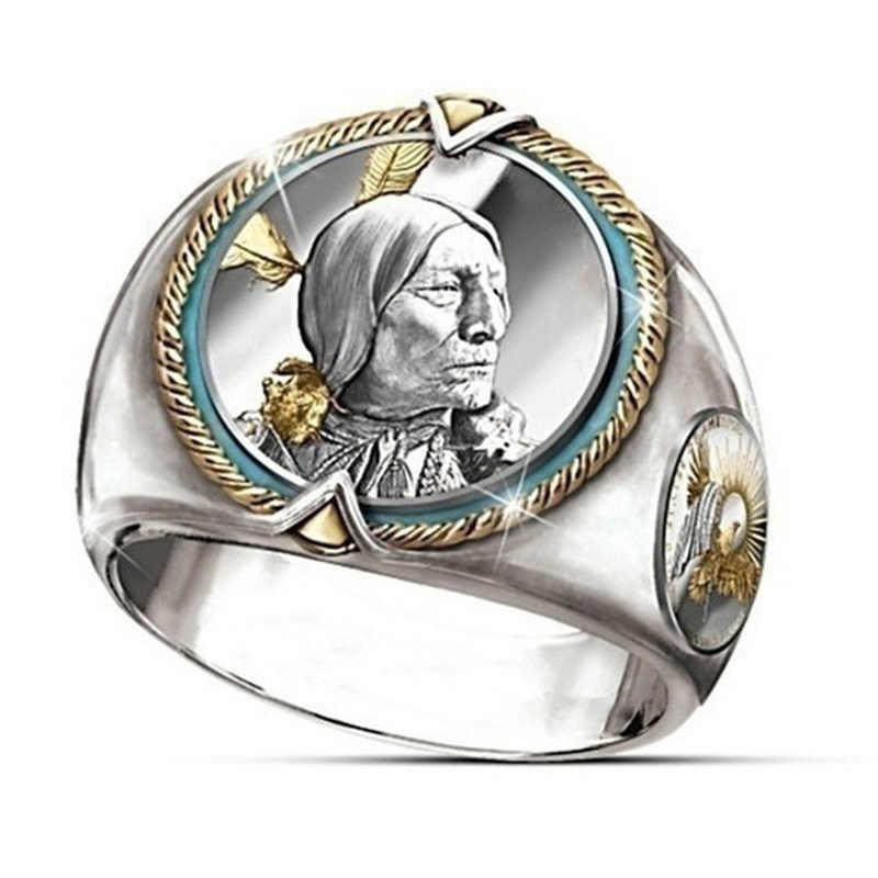 Búfalo níquel en honor al anillo de oro americano del oeste