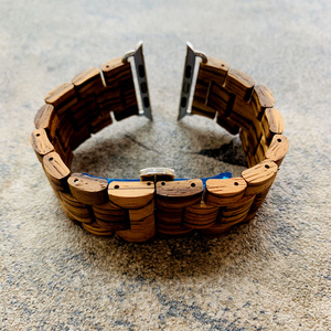 Image 4 - Retro Bamboo Wooden Bracelet Belt For Apple Watch band Wood 38mm 40mm 42mm 44mm Apple iWatch Strap Series 1 2 3 4 5 Watchbands