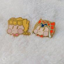 Anime jojo bizarre s aventura bizarra guido mista giorno giovanna botão broche pinos cosplay medalha coleção emblema decoração presentes