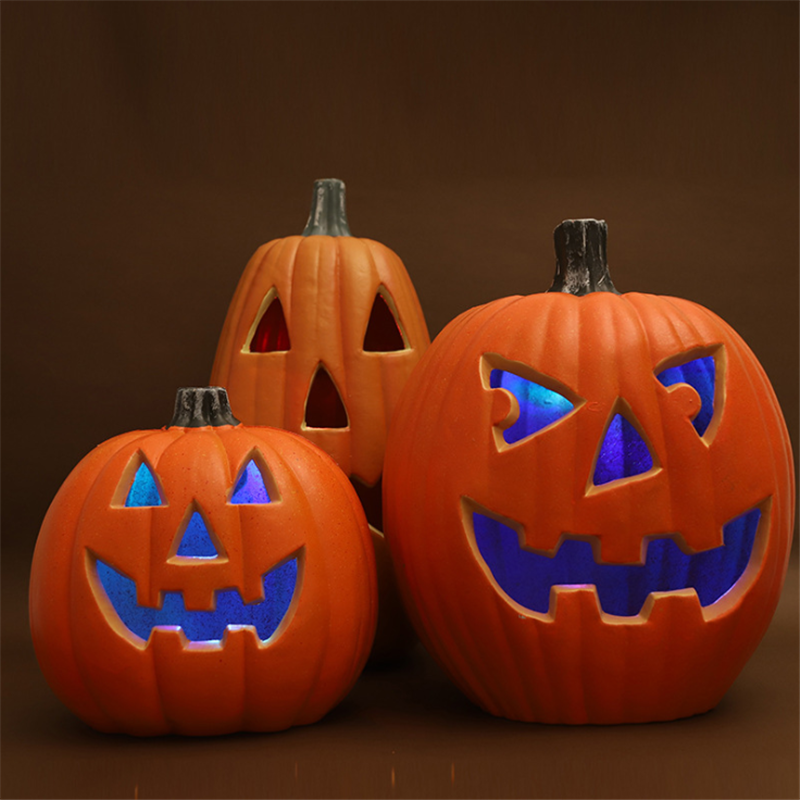 Halloween Pumpkin LED Night Light Decoration Lamp Creative Lantern Home Props Pumpkin Bar Party Decoration Lampara Home Decor