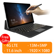 2020 Upgraded Fully connected 2 in 1 Tablet Laptop with Keyb