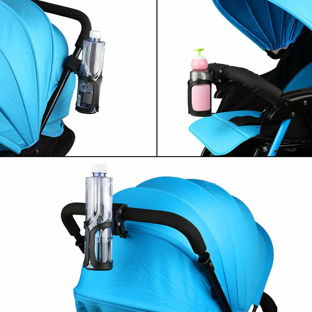 1 Xe Đẩy Xe Đẩy Trẻ Em Cốc Đựng Xe Ô Tô Đa Năng Uống Cốc Đen Phụ Kiện Xe Hơi