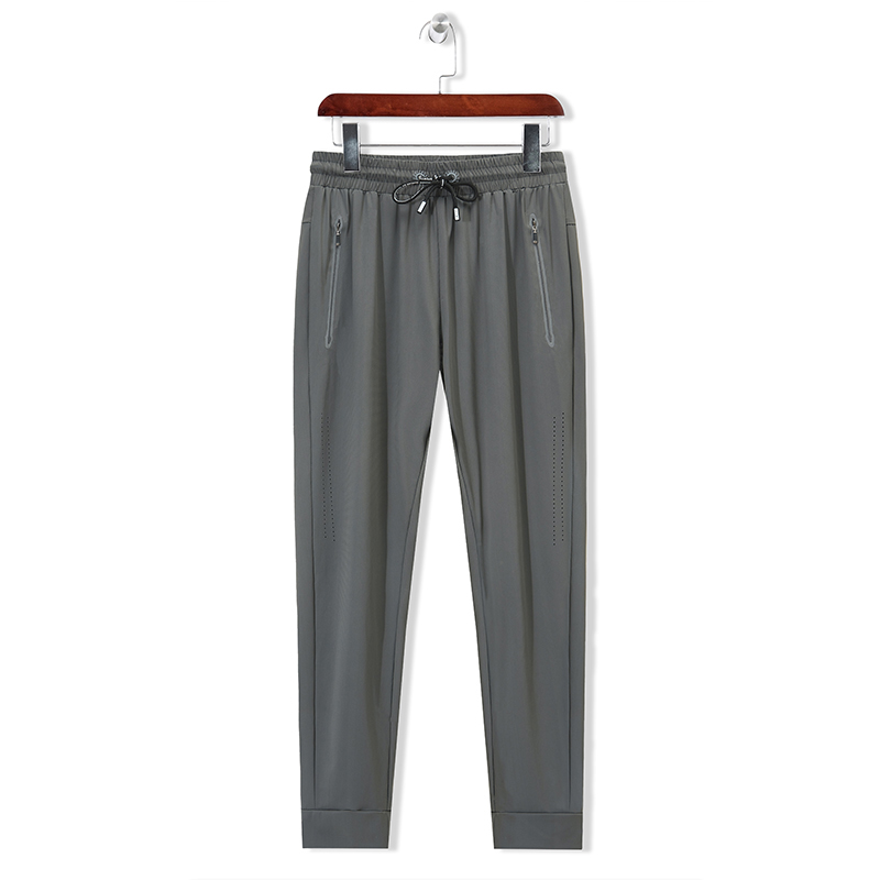 2020 summer men's plus fat plus size quick-drying pants loose straight breathable cropped pants large size 8XL