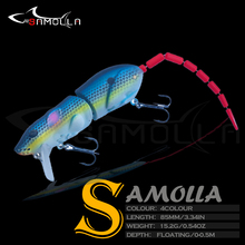 New Lures For Fishing Bait Mouse15.2g Long-range Fish Bait Accessories Wobblers For Pike Fishing Goods Tackle Floating Topwater