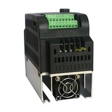 9100-1T-00040-G 0.4KW 220V 2.5A VFD Inverter Portable Frequency Converter Single-phase Electrical Equipments стоимость
