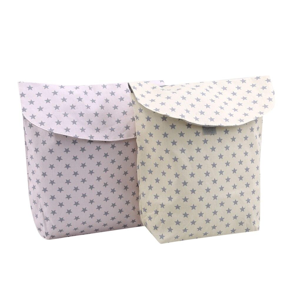 NEW Multifunction Baby Stroller Diaper Organizer Reusable Waterproof Prints Wet/Dry Bag Mummy Storage Bag Travel Nappy Bag