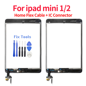 For iPad mini 1 mini 2 mini3 mini4 Touch Screen Digitizer Assembly Touch with Home Button A1432 A1454 A1455 A1489 A1490 A149(China)