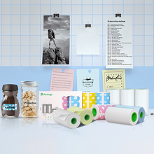 Paper-Sticker Label Printer Thermal-Paper Peripage for Pocket Mini Wireless A9 56x30