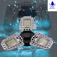 E27 LED Bulb E26 Lampara LED Bombilla Inteligente Waterproof Deformable Lamp 60W 80W High Intensity Lamparas LED Decorativas 220