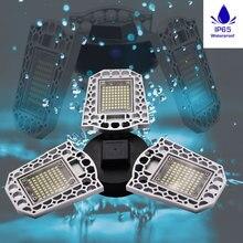Light Bulb LED E27 Waterproof Deformable Lamp Mi LED Smart Bulb E26 60W 80W LED Mining Lamps For Garage Attic Basement Home 220V