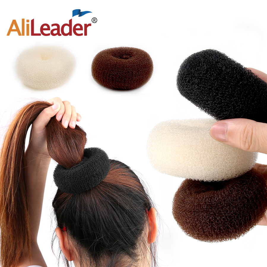 Модные Инструменты для укладки волос Alileader, сделай сам, волшебная заколка для пучка, аксессуары для волос, стильные губчатые пончики, приспо...
