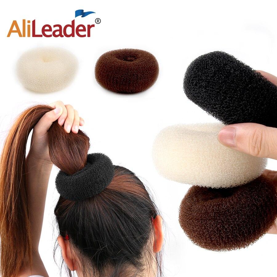 Alileader moda saç araçları stil Diy sihirli Bun Maker saç örgü aksesuarları stilleri sünger Donut Bun Maker saç S/M/L