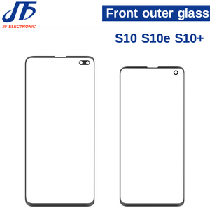 Image 2 - 10pcs Note 8 9 10 Front Outer Screen Glass Lens Replacement For Samsung Galaxy S9 S8 S10 s10E Plus s8 Front Screen Glass Lens