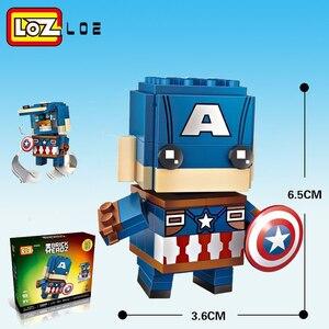 Image 5 - LOZ Qute  diamond block  cute building blocks toys bricks educational Action Figures Toys for Children