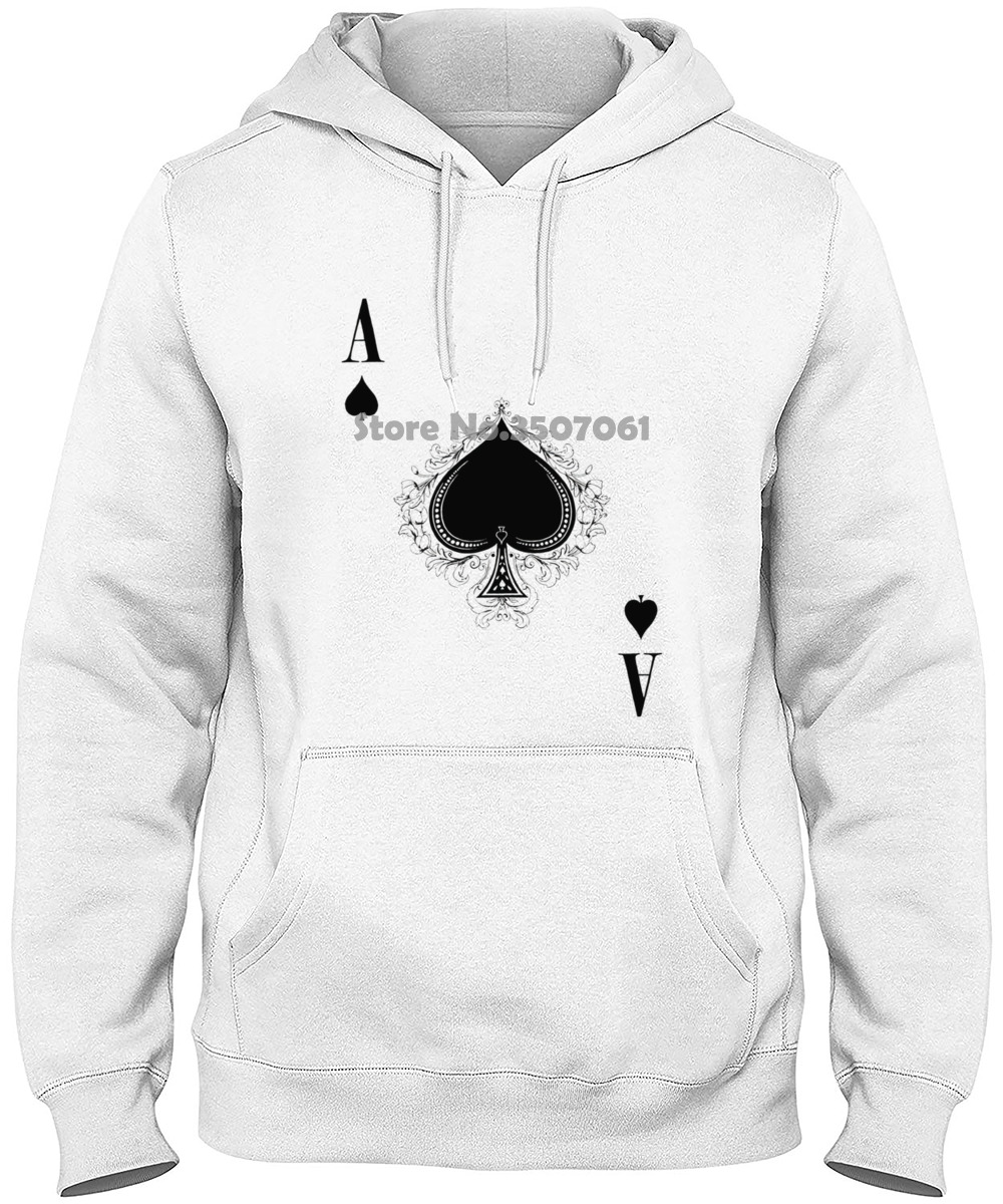 Ace Of Spades Iii Woman - Spade Poker Card Casino Karte Royal Flush Pik Short Sleeve Long Sleeve Women  Hoodies & Sweatshirts