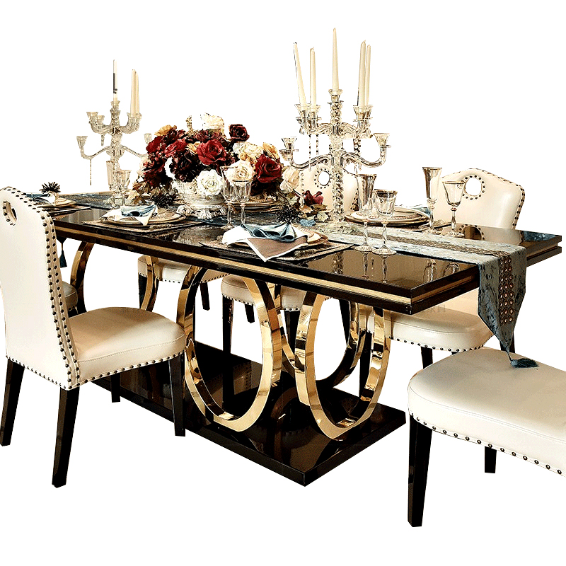 Marble Countertop Dining Table Sets