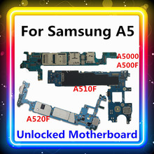 For Samsung Galaxy A5 A5000 A500F A510F A520F Motherboard With Full Chips Test Mainboard Android OS Updated