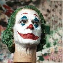 Stokta 1/6 Joker Joaquin Phoenix kafa heykel oyma DC 2019 Fit oyuncak merkezi CEN-M13 için 12