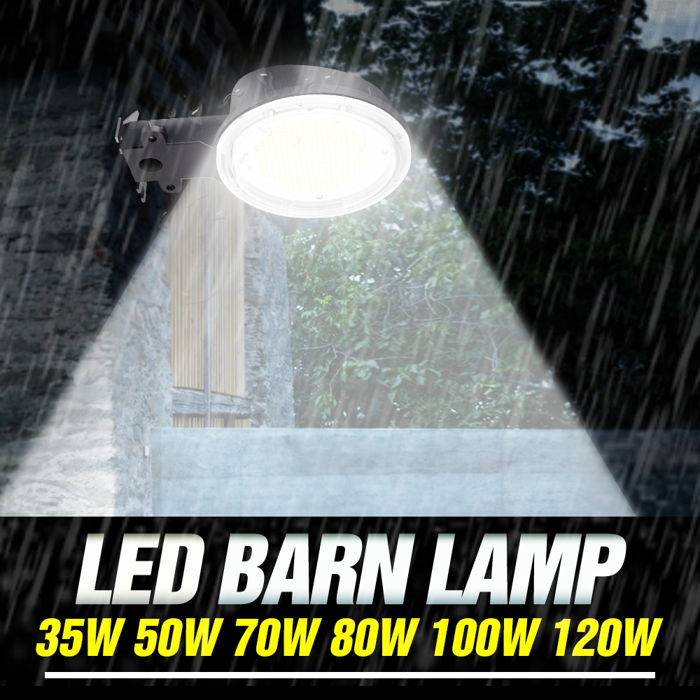 Floodlight Led Outdoor Wall Lamp 220V Waterproof Led Street Lights 35W 50W 70W 80W 100W 120W Led Barn Bulb Industrial Lighting