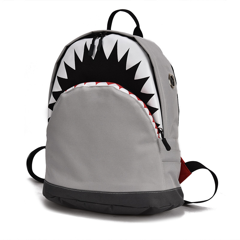 Kids 3D Model Shark School Bags Baby Mochilas Child's School Bag For Kindergarten Boys And Girls Bagpack Child Canvas Backpack