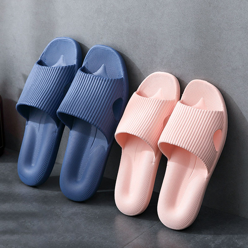 Массажные тапочки унисекс из ЭВА, Нескользящие шлепанцы на мягкой подошве, для дома, летние Пластиковые тапки для душа, для женщин
