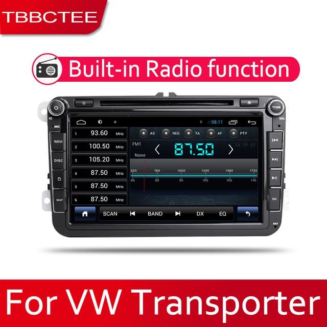 TBBCTEE samochodowy system android 1080P ekran IPS LCD dla volkswagena VW Transporter 2010 ~ 2018 radio samochodowe nawigacja GPS BT DVD