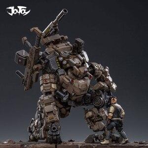Image 2 - JOYTOY 1:25 figur roboter FSTEEL KNOCHEN MECH Militär modell puppe Mecha Weihnachten präsentieren geschenk Freies verschiffen