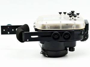 Image 4 - Meikon Máy Ảnh Chụp Dưới Nước Nhà Ở Cho Sony A6000 (16 50 Mm) 40 M/130ft + Lặn Tay Cầm 67 Mm Đỏ Lặn Lọc