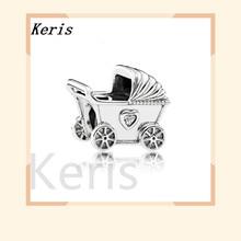 Серебро 925 пробы, Настоящее 1:1, 792102cz, детский Шарм, шарм, очаровательный браслет, Женский