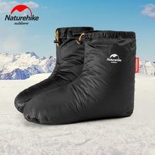 Naturehik Goose Down Slippers Ultralight Indoor Warm Long Journey Sleeping Bag Accessories Camping Outdoor 4.9