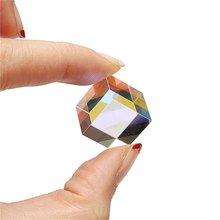 Оптическое стекло квадратная Призма 5 мм кубический научный