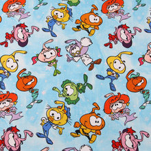 Cartoon Snorks Elf 100% Fabric for Kids Clothes Bedding Set Hometextile Curtain Cushion Cover DIY Needlework Material