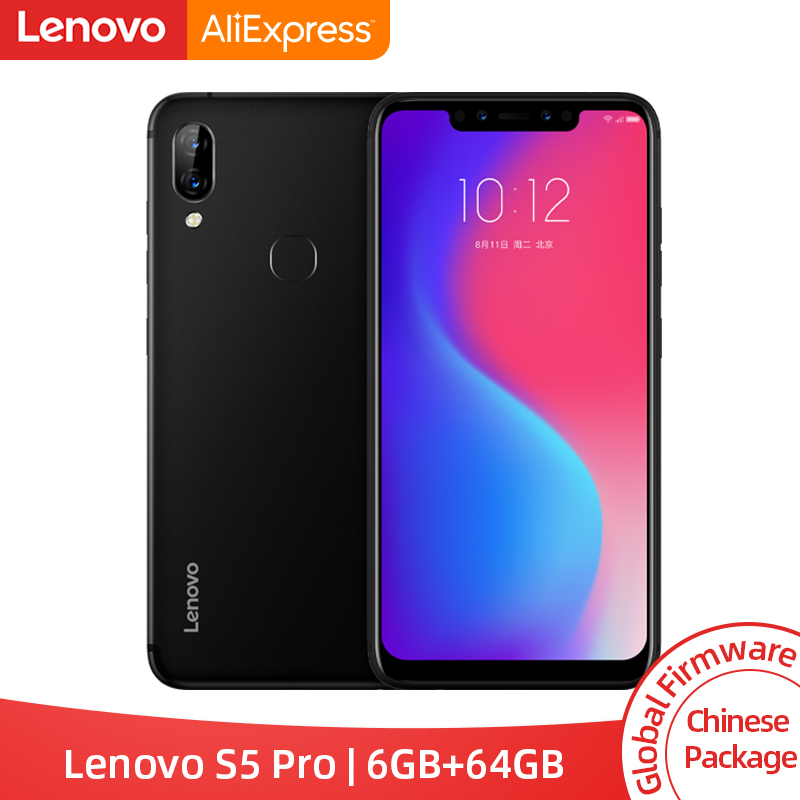 Global ROM Lenovo S5 Pro 6GB 64GB Snapdragon 636 Octa Core Smartphone 20MP Quad cámaras 6,2 pulgadas Octa Core 4G LTE teléfonos-in Los teléfonos móviles from Teléfonos celulares y telecomunicaciones on AliExpress - 11.11_Double 11_Singles' Day 1