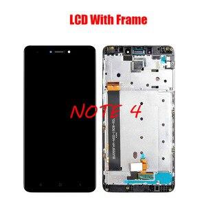 Image 4 - XIAOMI Redmi Note 4X Redmi Note 4 전면 케이스가있는 기존 LCD 스크린 어셈블리 검정색 흰색 수리 도구 및 강화 필름