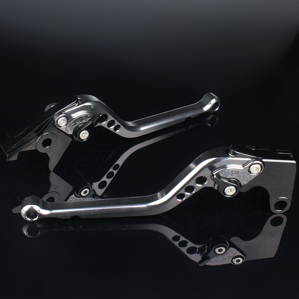 CNC Motorcycle Brake Clutch Levers Aluminum Adjustable Brake Clutch Lever Fit For Royal Enfield Himalayan 400