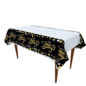 Image 5 - Ballons de table jetable pour anniversaire, banderole, fournitures décoratives pour fête du 30e, 40e, 50e anniversaire, banderole