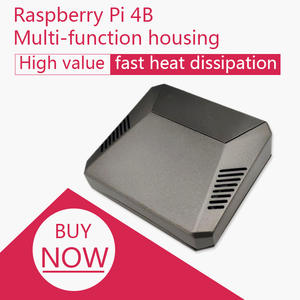 Proper-System Raspberry Pi PASSIVE ALUMINUM Argon One ENCLOSURE COOLING 4-Case AND SHUTDOWN