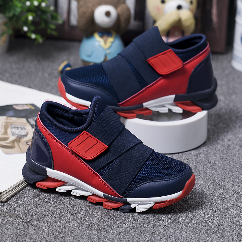 Mudipanda Children's Sports Shoes Boys Primary School Students Kids Running Shoes Casual Waterproof Platform Sports Shoes