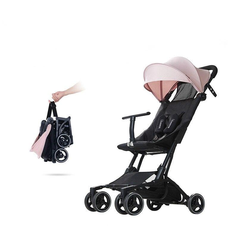 Europa style wysokiej wózek dla dziecka ultralekki przenośny składany spacerówka z parasolką hot sprzedaży