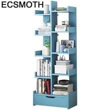 Decoracao De Bois Maison Rangement Mobilização Por La Casa Armário Meuble Móveis Rack de Madera Libreria Retro Estante de Livros Caso