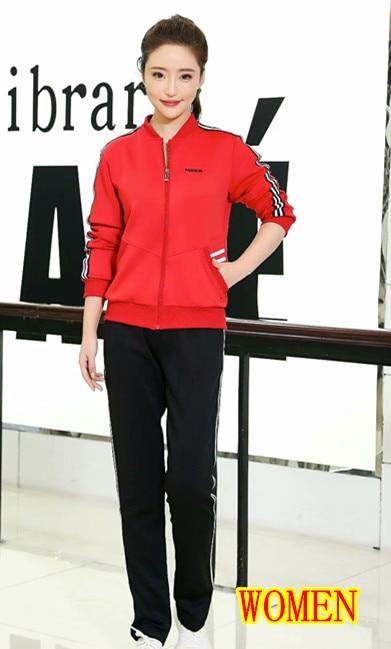 Women red suit