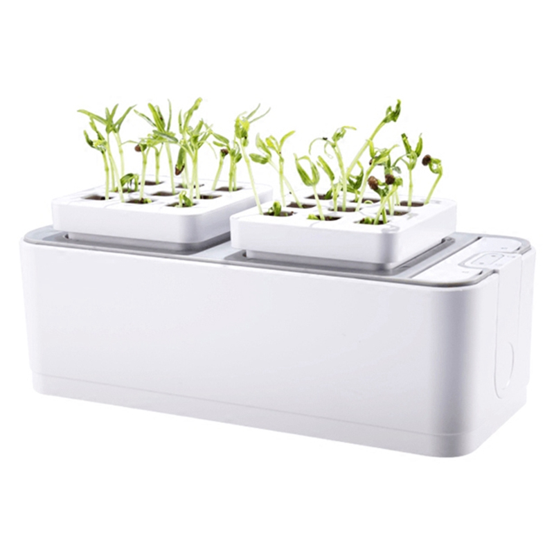 Батарея без воды Выращивание растений рост рассады наборы гидропоники комплект для выращивания растений садовые растения системы овощи ящ