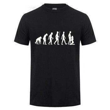 Evolution Sucks T-Shirt Blasen Sex Blowjob Frau Party Men Funny Offensive Humor Joke Rude Summer Cotton Short Sleeve T Shirt rude толстовка