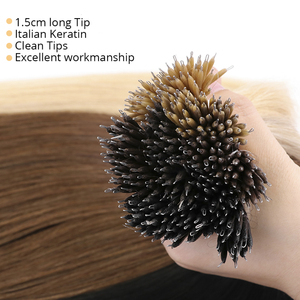 Image 3 - MRSHAIR Nano Rings Micro Ring 100% Human Hair Extensions Non remy Hair Brown Blonde Pure Color 50/200pc 12 16 20 24 Inch