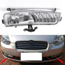 Sis lambası Hyundai Accent 2006 ~ 2010 sis lambası araba ön tampon Grille sinyal lambası sürüş sis farları meclisi