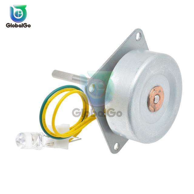 Micro Three Phase AC Wind Generator Turbines Brushless Motor Hand Cranked Generator 3-24V 0.1A-1A 0.5-12W RPM3000-6000 LED 3