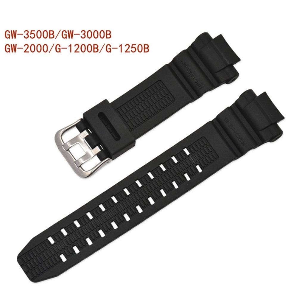 Watchband Wrist Strap Band Slicone Adjustable Replacement for GW-3500B G-1200B G-1250B GW-3000B GW-2000 Sports Watch Drop Ship