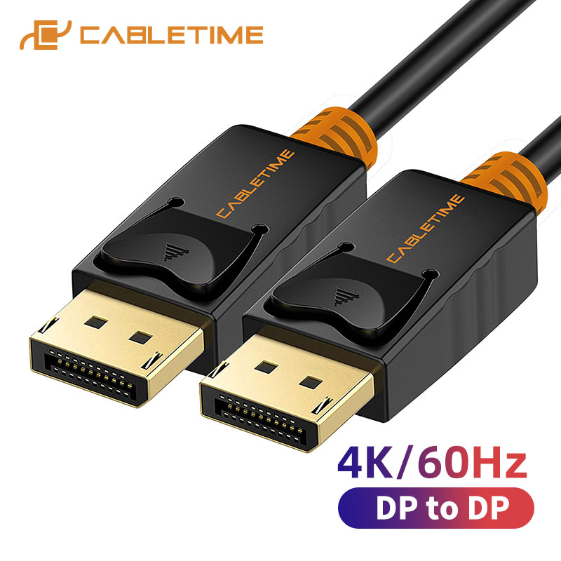 DisplayPort Cable 144Hz Display Port Cable 1.2 4K 60Hz DP Vedio DisplayPort To DisplayPort Cable For HDTV Projector PC C071
